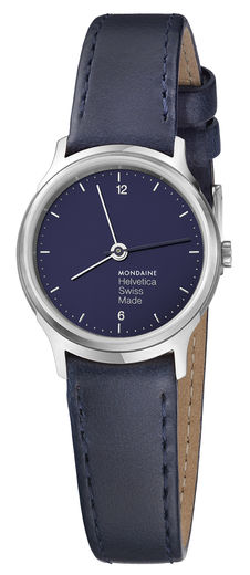 Helvetica Light Navy Blue,   26 mm, naisten rannekello. Upea sininen sävy!