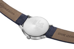 Helvetica Regular 33 mm, Navy blue