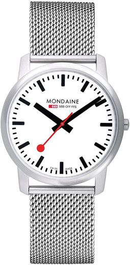 Mondaine Slim - 41 mm mesh